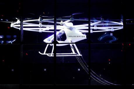 Hãng Volocopter huy động vốn để phát triển taxi bay