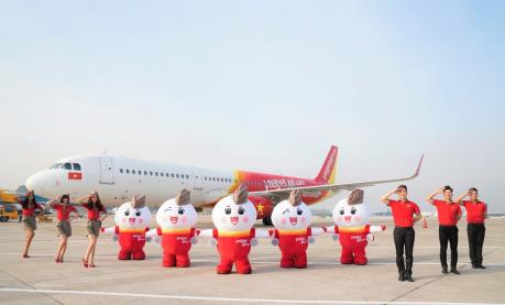 Vietjet Air dành 1 tháng khuyến mại vé 0 đồng cho các đường bay nội địa