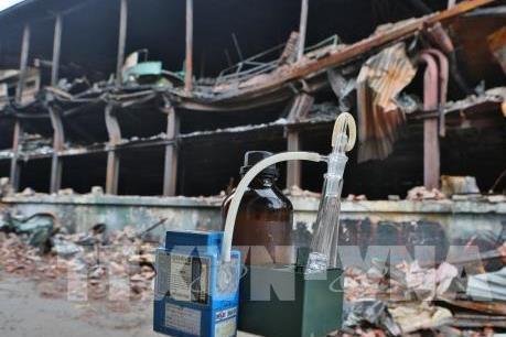 Vụ cháy Cty Rạng Đông: Yêu cầu Chủ tịch UBND Tp Hà Nội làm rõ phạm vi, mức độ ô nhiễm