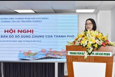 Thành phố Hồ Chí Minh thí điểm bản đồ số dùng chung
