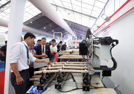 Sắp diễn ra triển lãm thiết bị công nghệ phục vụ chuyên ngành chế biến gỗ