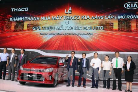 Khánh thành nhà máy Thaco Kia nâng cấp - mở rộng