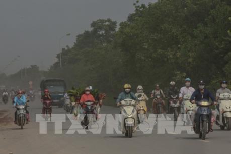 Ô nhiễm không khí tại Hà Nội sáng 30/9 vượt báo động đỏ