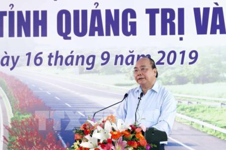 Khởi công tuyến Cam Lộ-La Sơn thuộc Dự án đường bộ cao tốc Bắc-Nam