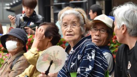 Nhật Bản có tỷ lệ người cao tuổi lớn nhất thế giới