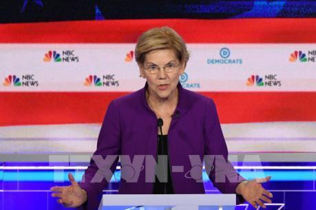 Bầu cử Mỹ: Ứng viên Warren công bố kế hoạch chống tham nhũng sâu rộng