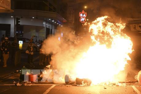 Cảnh sát Hong Kong truy cứu đến cùng hành vi vi phạm pháp luật
