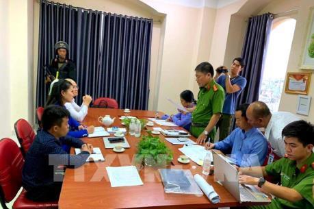 Phong tỏa trụ sở, bắt tạm giam Chủ tịch HĐQT CTCP địa ốc Alibaba