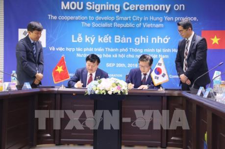 Tập đoàn Hàn Quốc hợp tác phát triển thành phố thông minh ở Hưng Yên