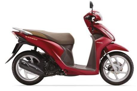 Doanh số bán xe máy và ô tô của Honda đều giảm trong tháng 2