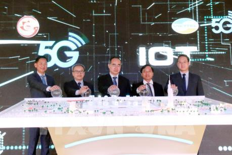 Tp. Hồ Chí Minh là địa phương đầu tiên trong cả nước phủ sóng 5G 
