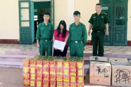Quảng Ninh bắt gần 150kg pháo nhập lậu qua biên giới