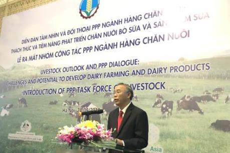 Tỷ lệ liên kết chuỗi trong chăn nuôi bò sữa chiếm gần 100%