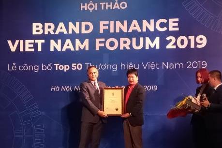 Công bố bảng xếp hạng Top 50 thương hiệu giá trị nhất Việt Nam