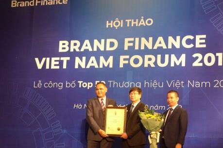 Vượt Vinamilk, VNPT xếp thứ 2 Top 50 thương hiệu giá trị nhất Việt Nam