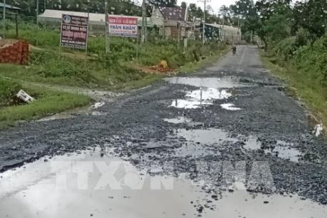 Quốc lộ 27 đoạn qua tỉnh Lâm Đồng xuống cấp nghiêm trọng