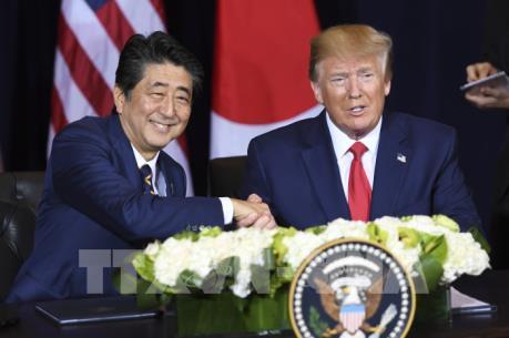 Nhật Bản và Mỹ đã đạt được thỏa thuận thương mại song phương