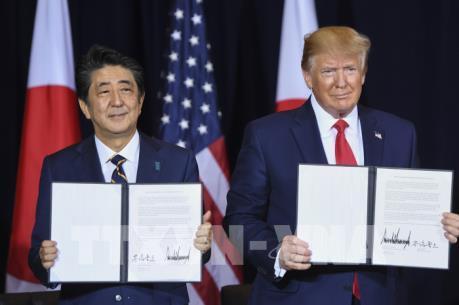 Mỹ và Nhật Bản ra tuyên bố chung về kế hoạch tham vấn thương mại