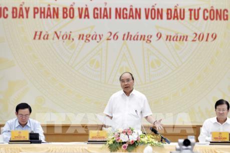 Thủ tướng Nguyễn Xuân Phúc: Giải ngân vốn đầu tư công là nhiệm vụ chính trị trọng tâm