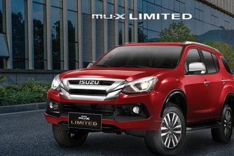 Bảng giá xe ô tô Isuzu tháng 11/2019, thêm SUV mu-X limited