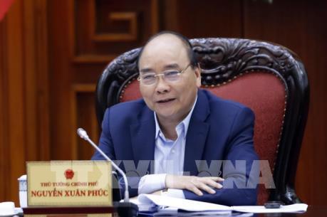 Thủ tướng Nguyễn Xuân Phúc chủ trì họp Thường trực Tiểu ban KTXH của Đại hội Đảng XIII