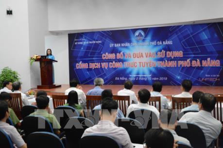 Đà Nẵng đưa vào hoạt động Cổng dịch vụ công trực tuyến