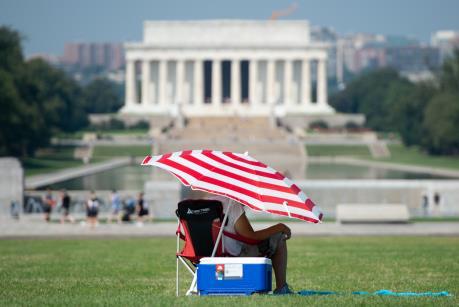 Thời tiết đầu Thu nắng nóng bất thường ở Mỹ