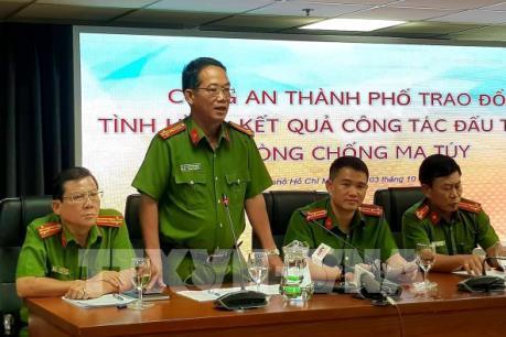 Phá loạt đường dây vận chuyển ma túy lớn từ Campuchia về TP.HCM