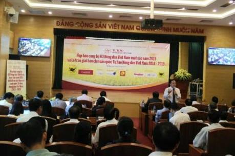 Trao giải báo chí toàn quốc Tự hào nông dân Việt Nam 2018-2019