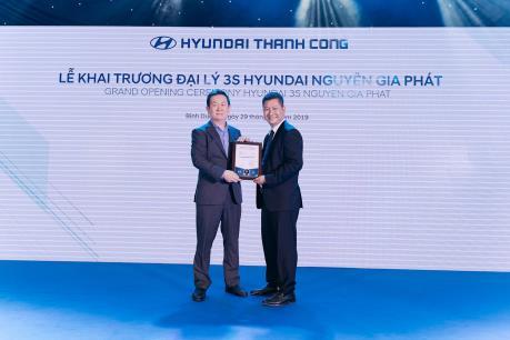 TC MOTOR và Hyundai liên tiếp khai trương 4 đại lý xe thương mại