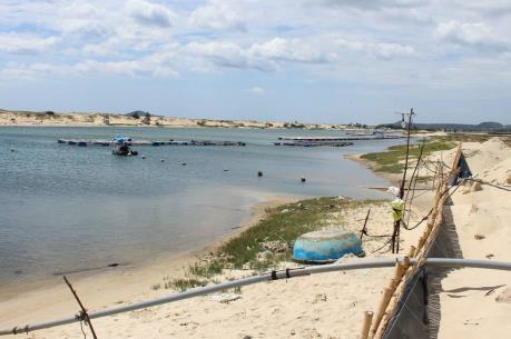 Phú Yên sẽ cưỡng chế công trình nuôi tôm trên đất lấn chiếm