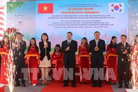Khánh thành nhà máy xử lý nước thải thành phố Long Xuyên