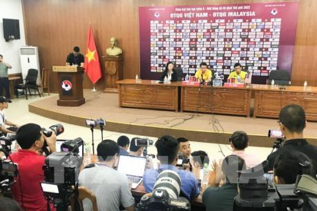 Đội tuyển Việt Nam và Malaysia đều bày tỏ quyết tâm giành kết quả tốt nhất