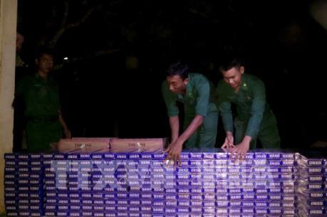 An Giang thu giữ 5.000 gói thuốc lá điếu ngoại nhập lậu