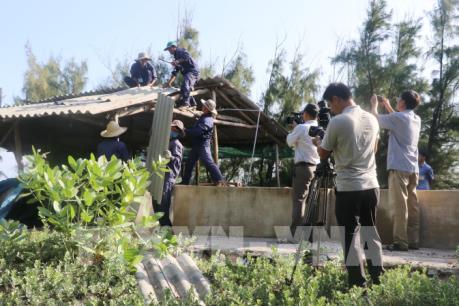 Phú Yên cưỡng chế công trình nuôi tôm chiếm đất do Nhà nước quản lý