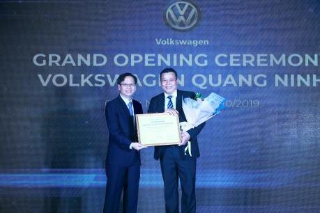 Volkswagen khai trương đại lý 4S lớn nhất Việt Nam ở Quảng Ninh