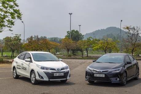 Doanh số bán xe Toyota tại Việt Nam tăng 17%