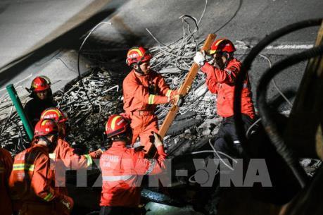 Vụ sập cầu ở Giang Tô, Trung Quốc: Ít nhất 3 người thiệt mạng