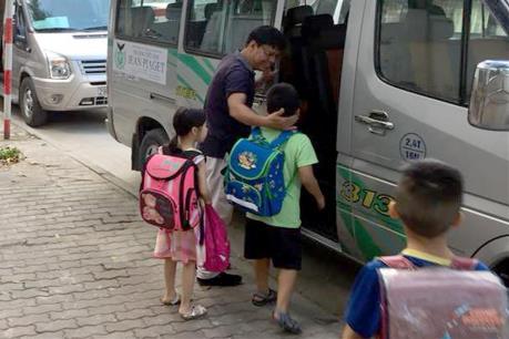 Bộ GTVT trả lời về quy định tiêu chuẩn xe đưa đón học sinh