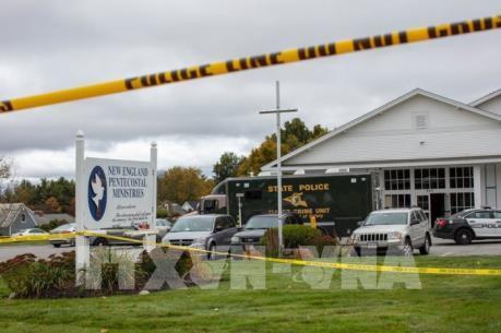 2 người bị thương trong vụ xả súng tại bang New Hampshire