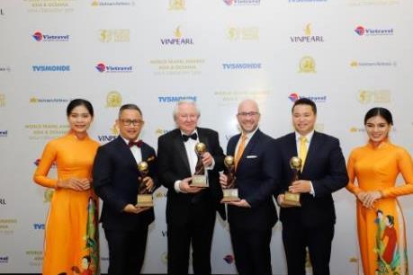 """Các khu nghỉ dưỡng của Sun Group nhận """"mưa"""" giải thưởng quốc tế"""