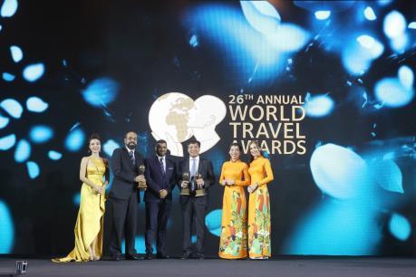 Vietnam Airlines nhận 3 giải thưởng uy tín tại WTA 2019