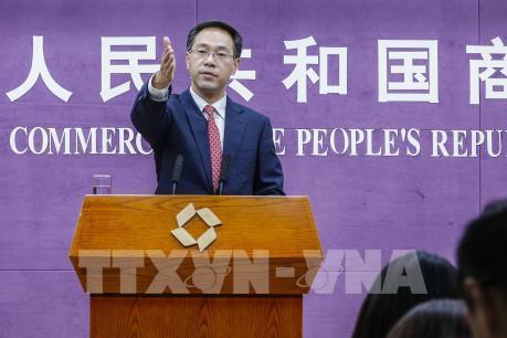 Trung Quốc hy vọng sớm đạt thỏa thuận thương mại theo giai đoạn với Mỹ