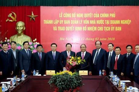 Quy định nhiệm vụ quyền hạn của Ủy ban Quản lý vốn Nhà nước tại doanh nghiệp