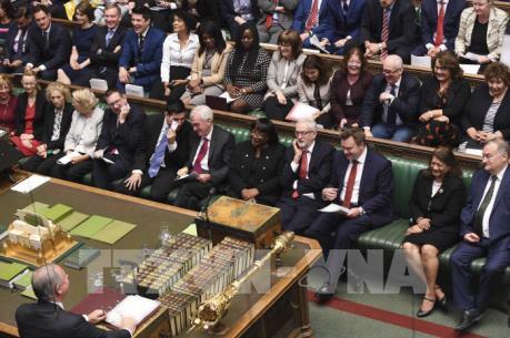 Hạ viện Anh thông qua kế hoạch cuộc họp về thỏa thuận mới với EU