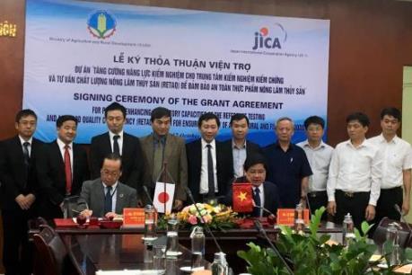 JICA hỗ trợ Việt Nam kiểm nghiệm an toàn thực phẩm