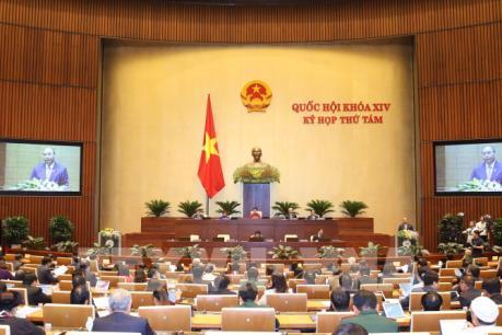 Kỳ họp thứ 8, Quốc hội khóa XIV: Thảo luận dự án Luật Chứng khoán (sửa đổi)