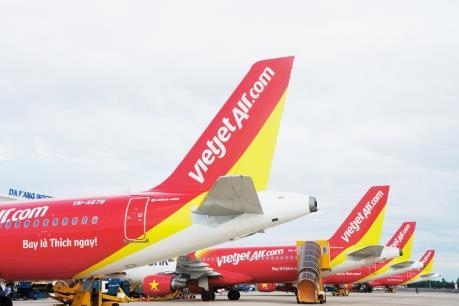 Vietjet ưu đãi hàng triệu vé 0 đồng trên các đường bay trong nước và quốc tế