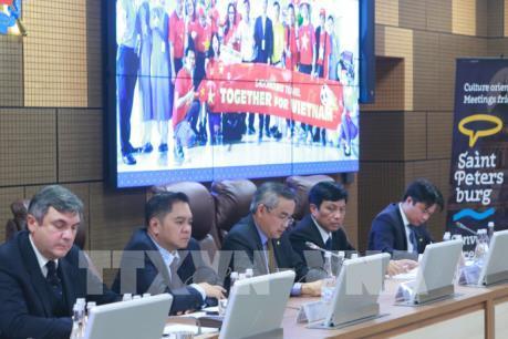 Việt Nam tham dự diễn đàn du lịch tại Saint Petersburg, Nga