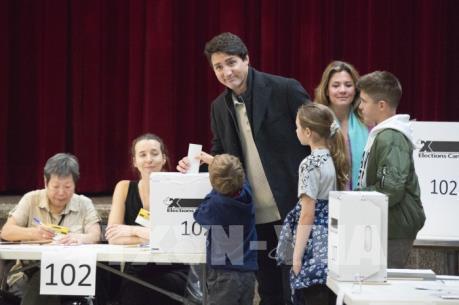 Thủ tướng Justin Trudeau nhiều khả năng sẽ thành lập một chính phủ thiểu số